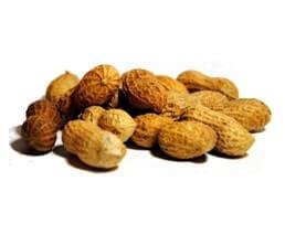 Eiwitten noten en pinda's